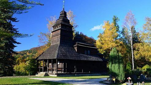 Dřevěný kostelík sv. Prokopa a Barbory v Kunčicích pod Ondřejníkem je otevřen pro veřejnost