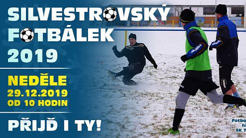 29.12.2019: Silvestrovský fotbálek