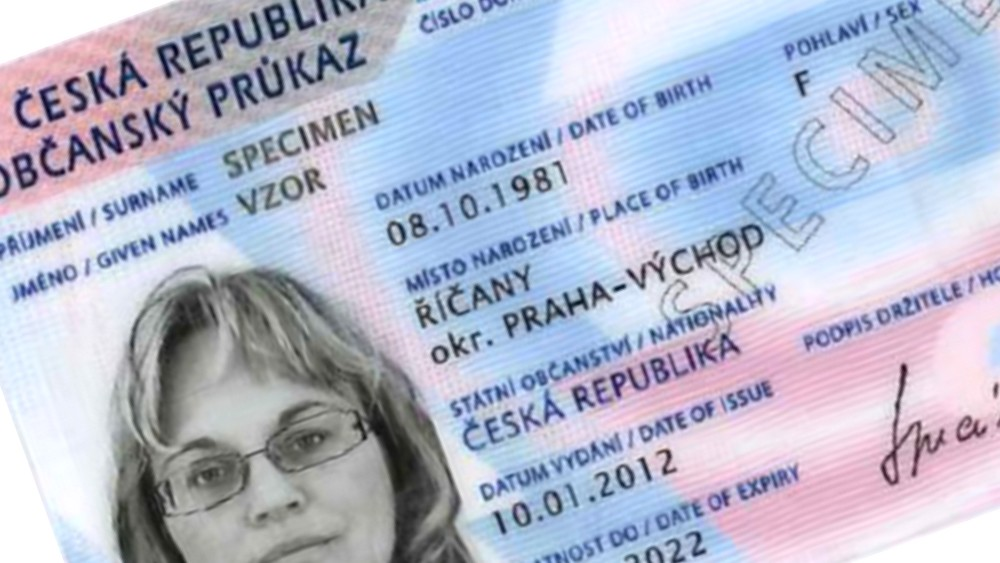 mvcr.cz - Občanský průkaz - vzor