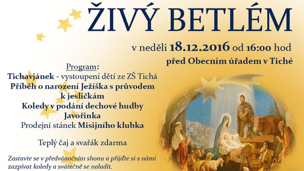 LJ - Živý betlém 2016