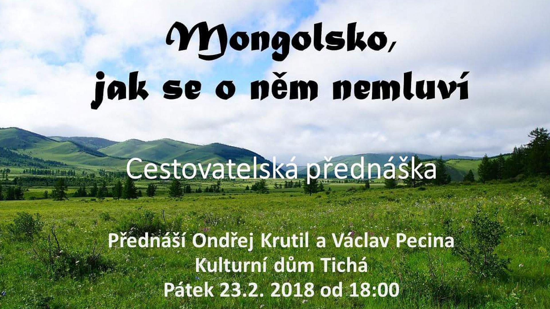 Ondřej Krutil - Mongolsko, jak se o něm nemluví