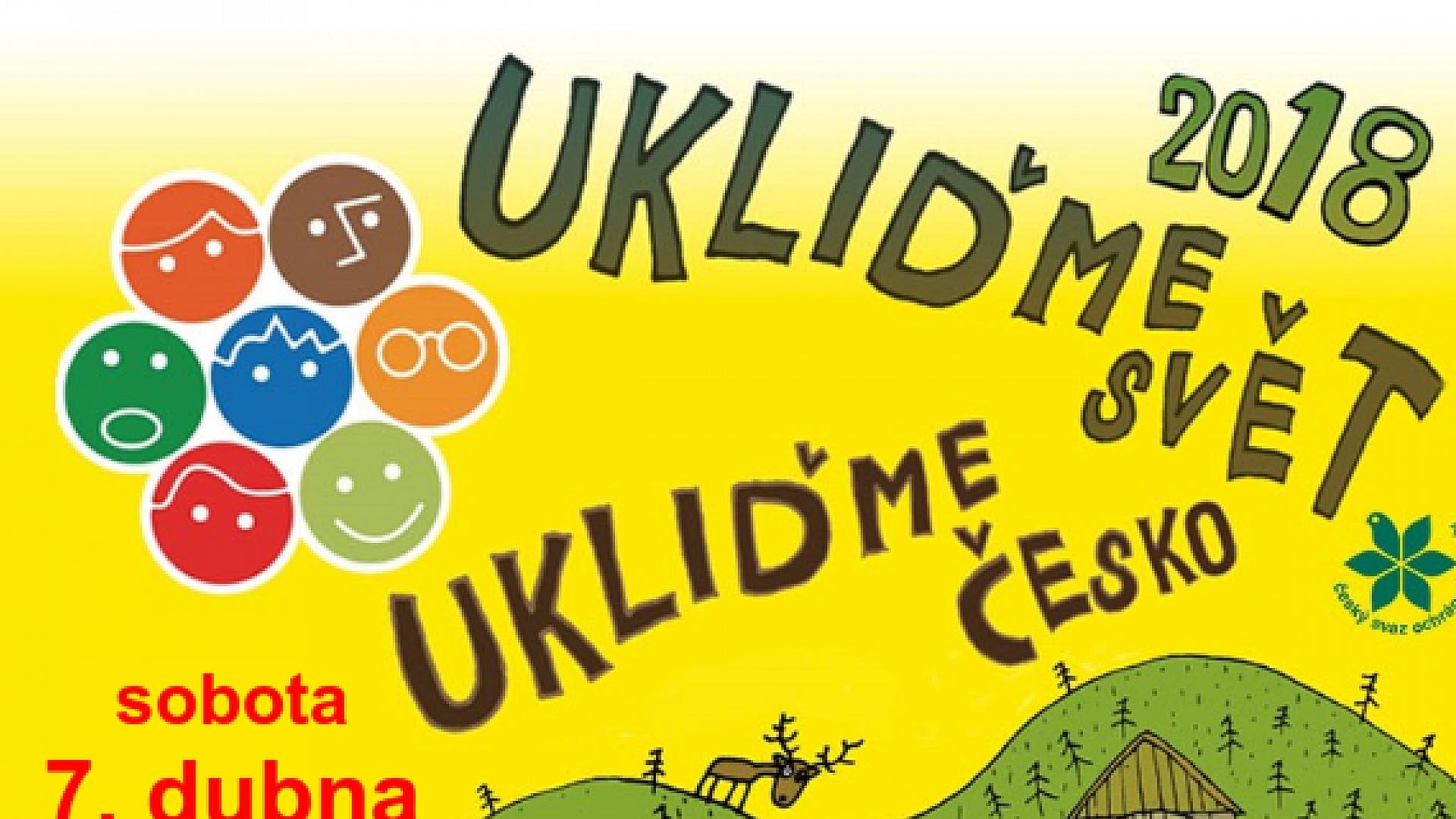 Obec Tichá - UKLIĎME ČESKO 2018