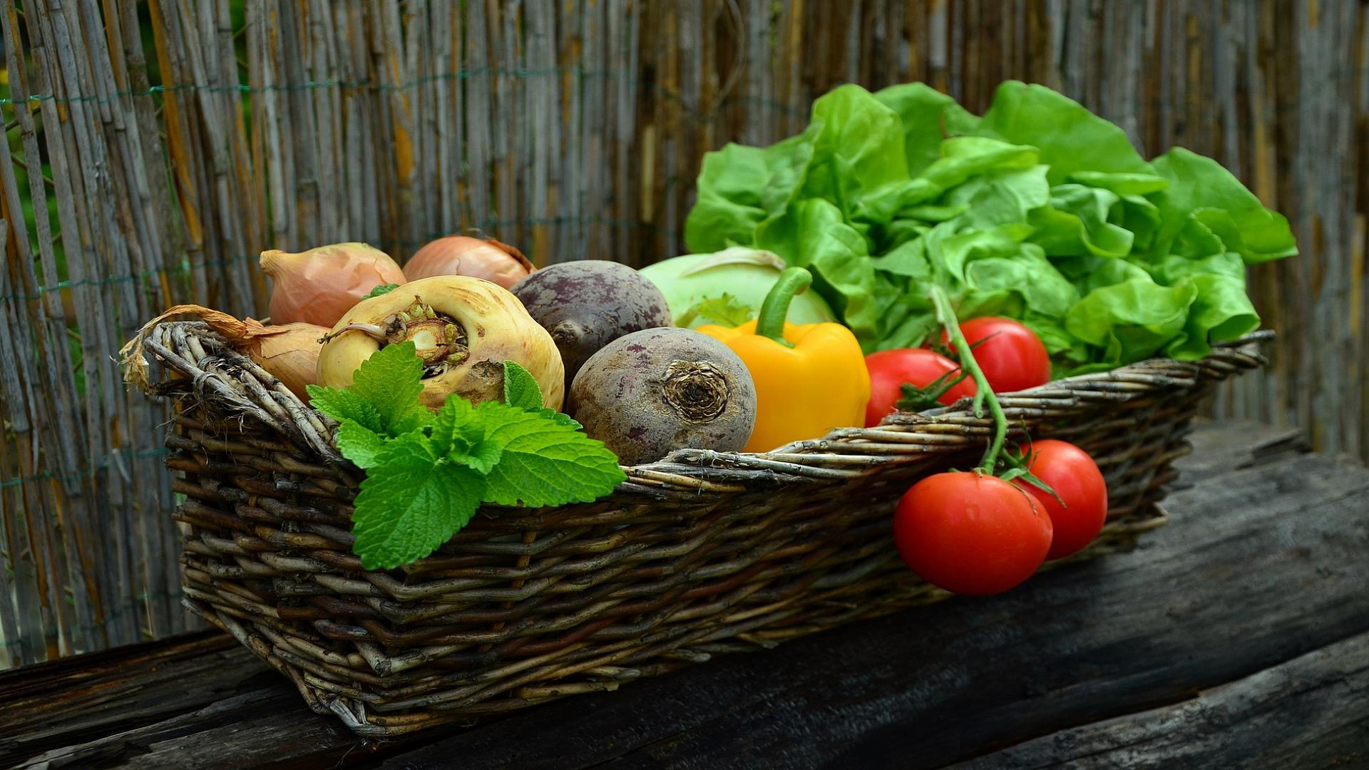 Condesign - Zelenina v košíku