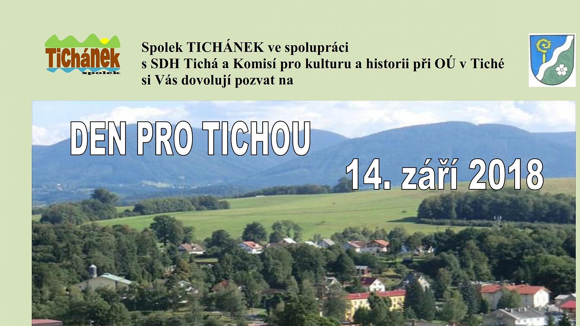 Tichánek - Den pro Tichou 2018