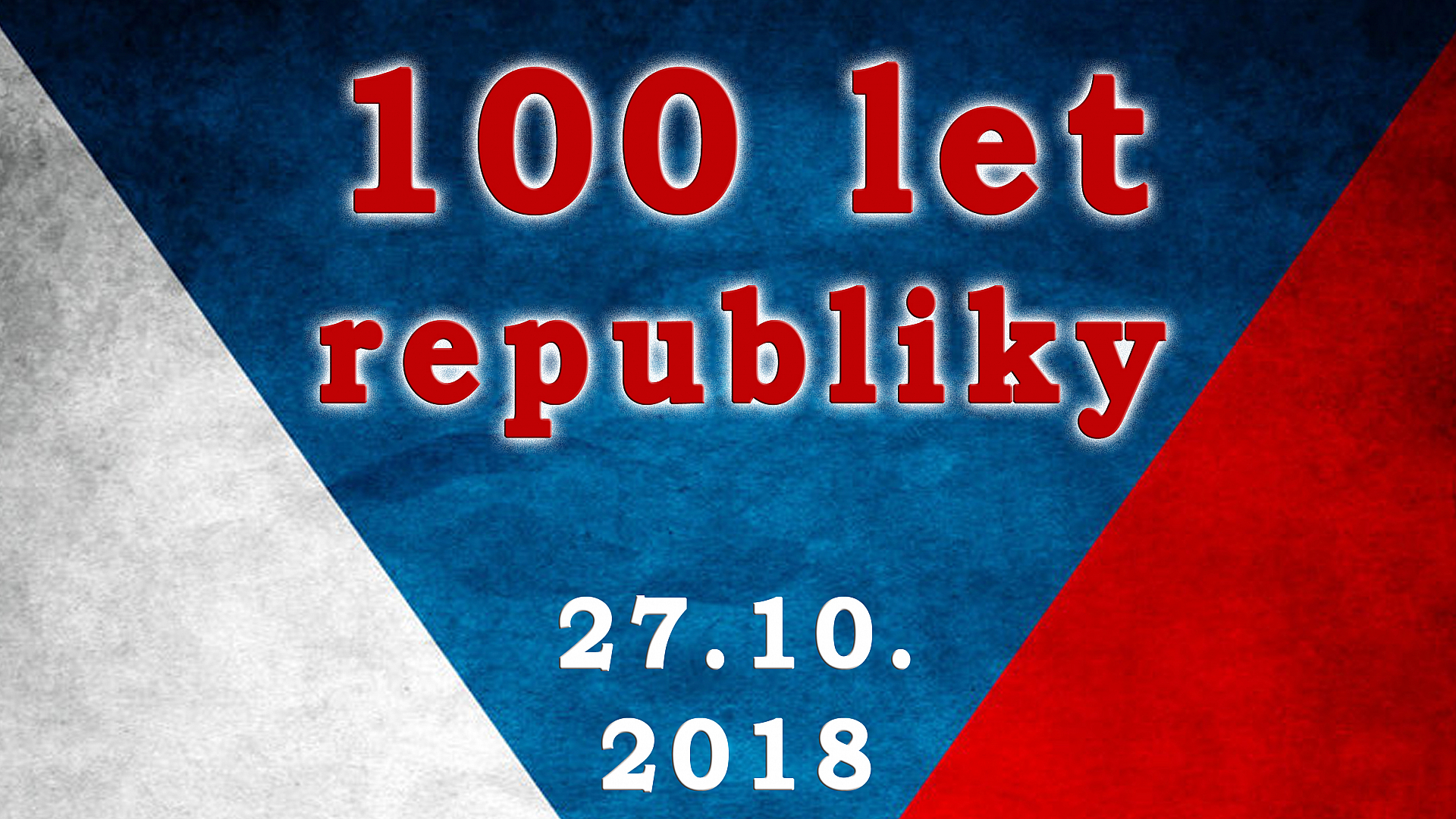 Obec Tichá - Oslava 100 let republiky