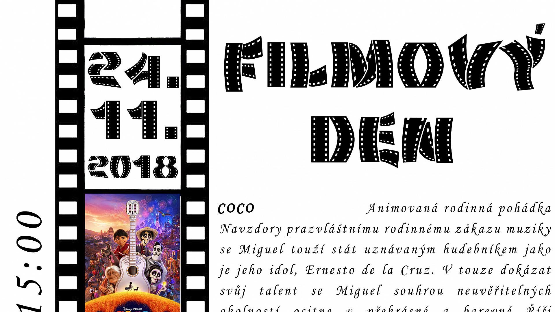 Obec Tichá - Filmový den 24.11.2018