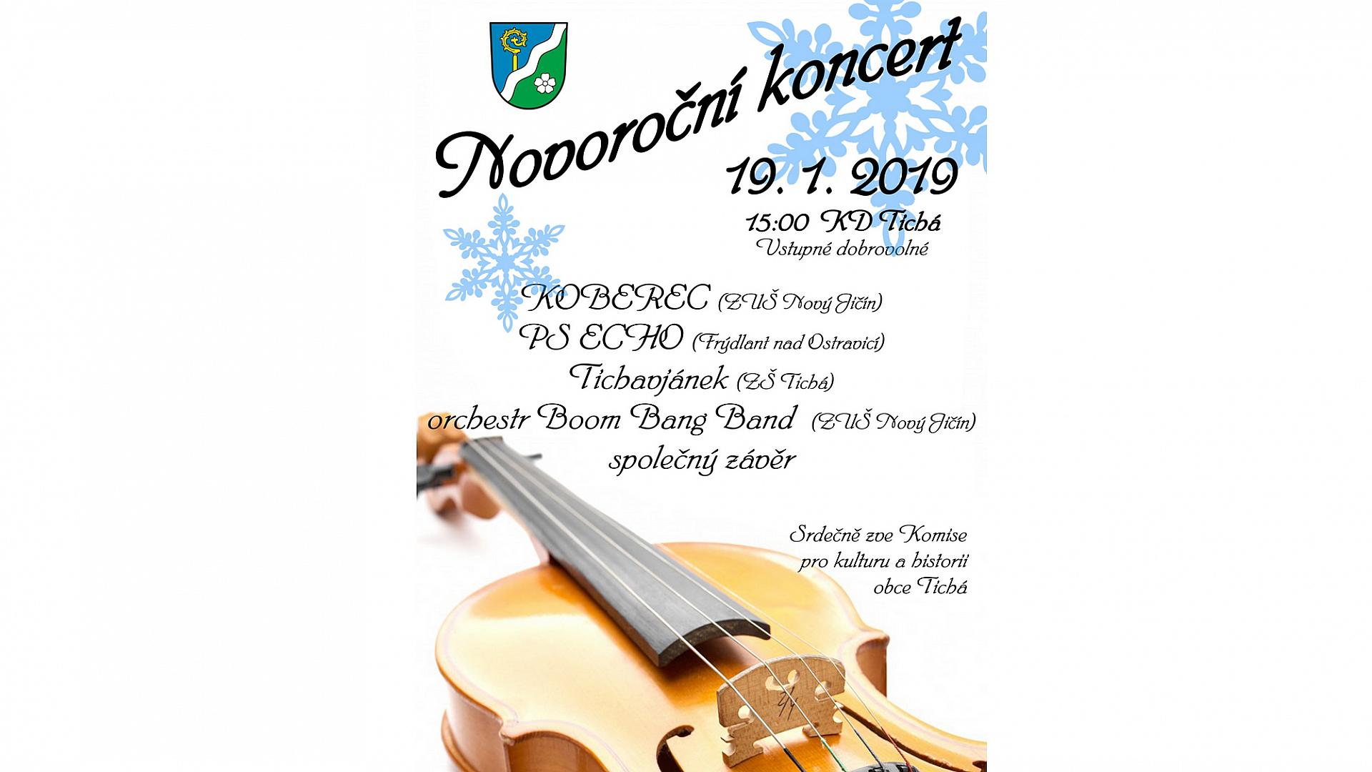 Obec Tichá - Novoroční koncert 2019
