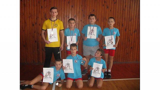 Tichavští zápasníci přivezli z Krnova medaile