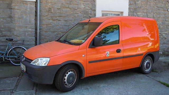 Pořízení automobilu Opel Combo