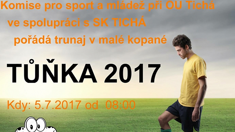 Komise pro sport a mládež - Turnaj v malé kopané TŮŇKA 2017