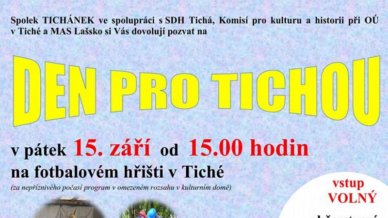 Tichánek - Den pro Tichou 2017
