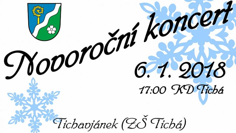 Obec Tichá - Novoroční koncert 2018