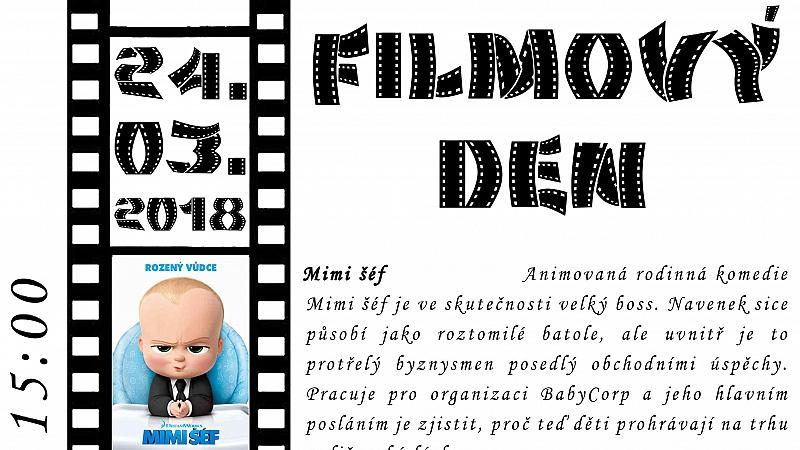 Obec Tichá - Filmový den 2018