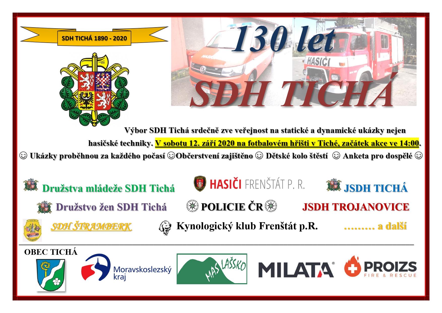 130 let SDH Tichá