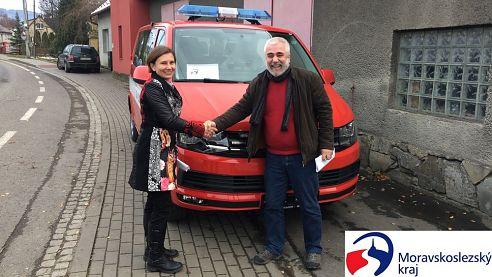JSDH Tichá dostala nový hasičský automobil
