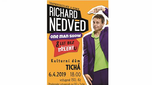 06.04.2019: One man show Richarda Nedvěda