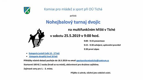 Nohejbalový turnaj dvojic