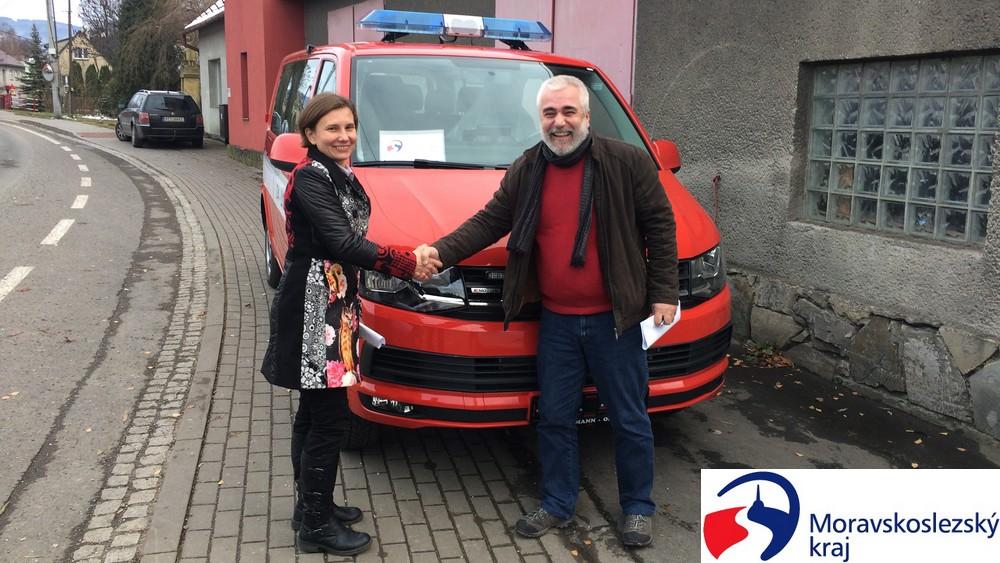 Petr Bordovský - Nové auto SDH