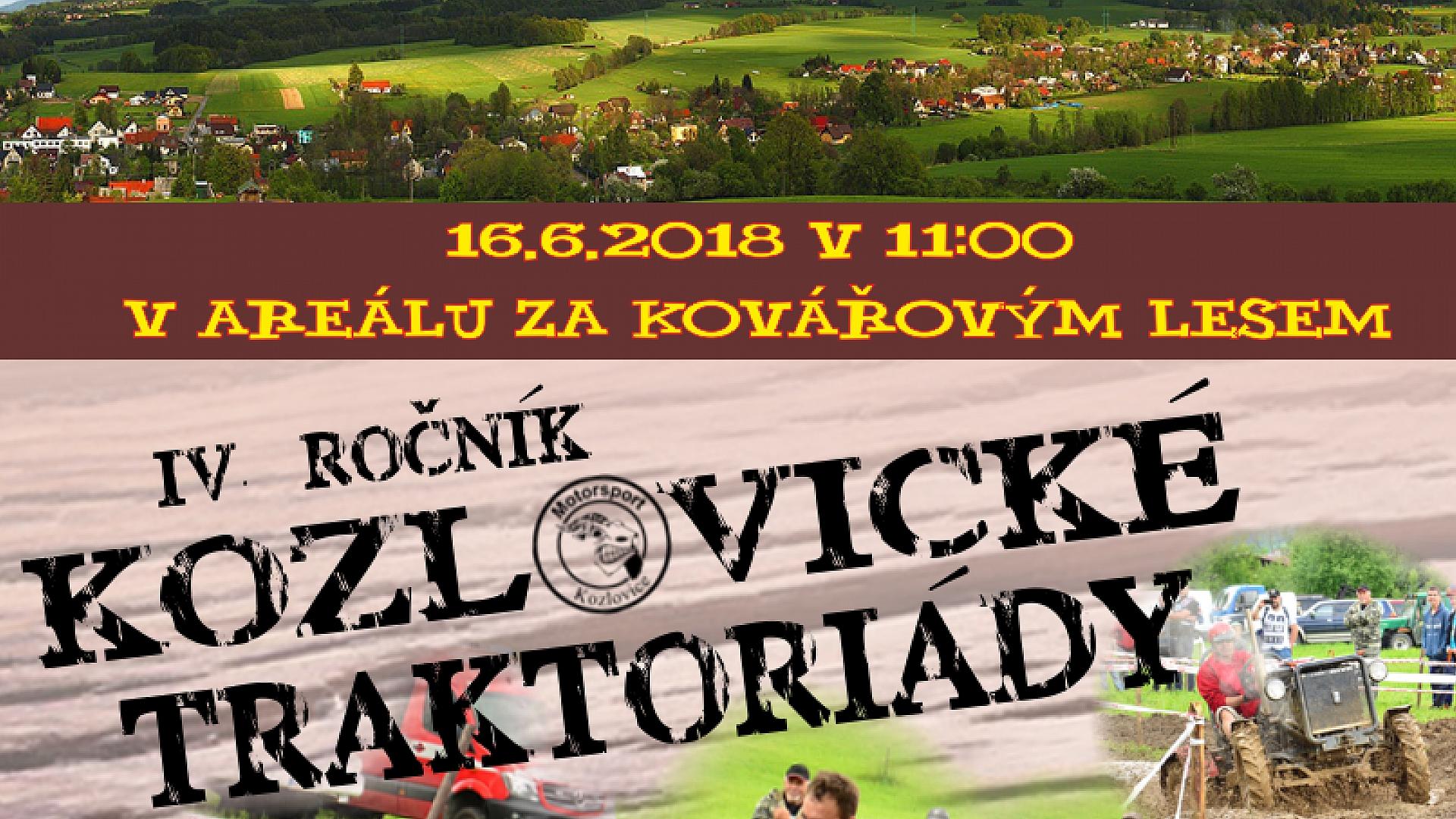 Kozlovice - IV. ROČNÍK KOZLOVICKÉ TRAKTORIÁDY
