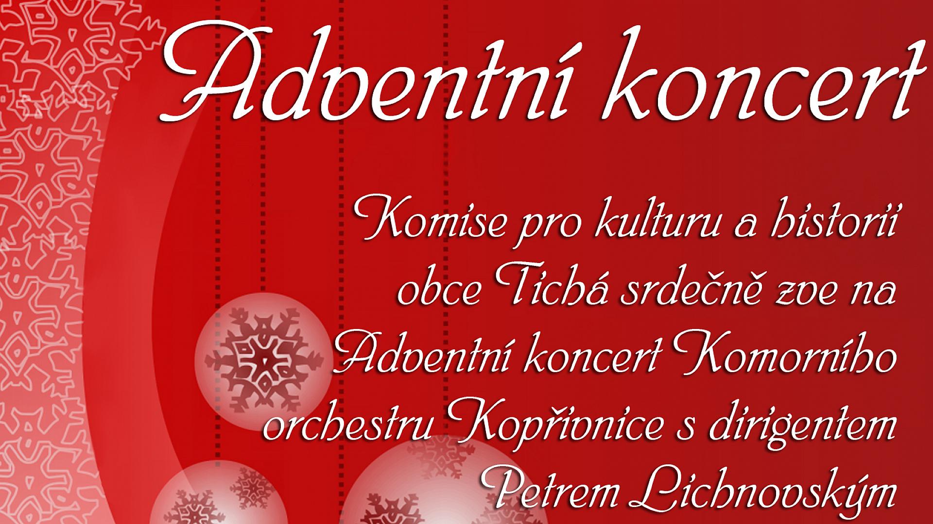 Obec Tichá - Adventní koncert
