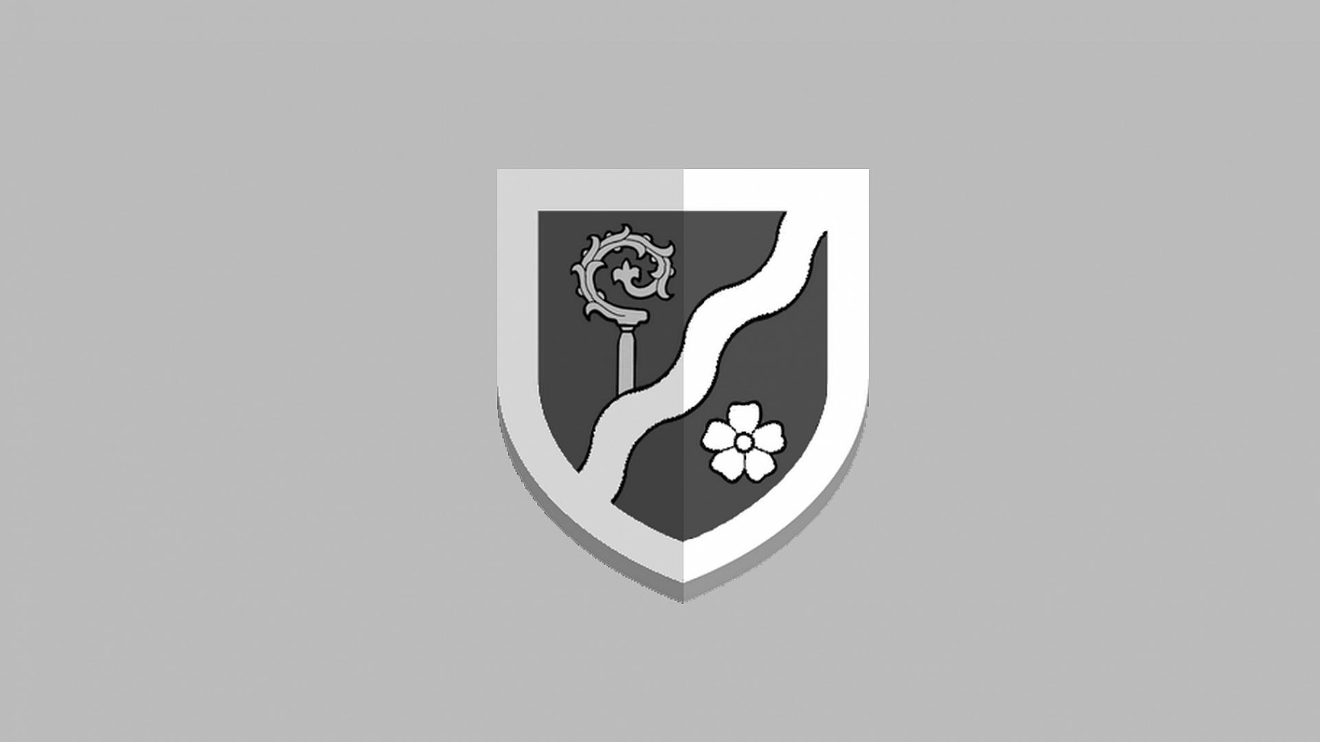 Obce 2020.cz - Znak obce Tichá - šedý