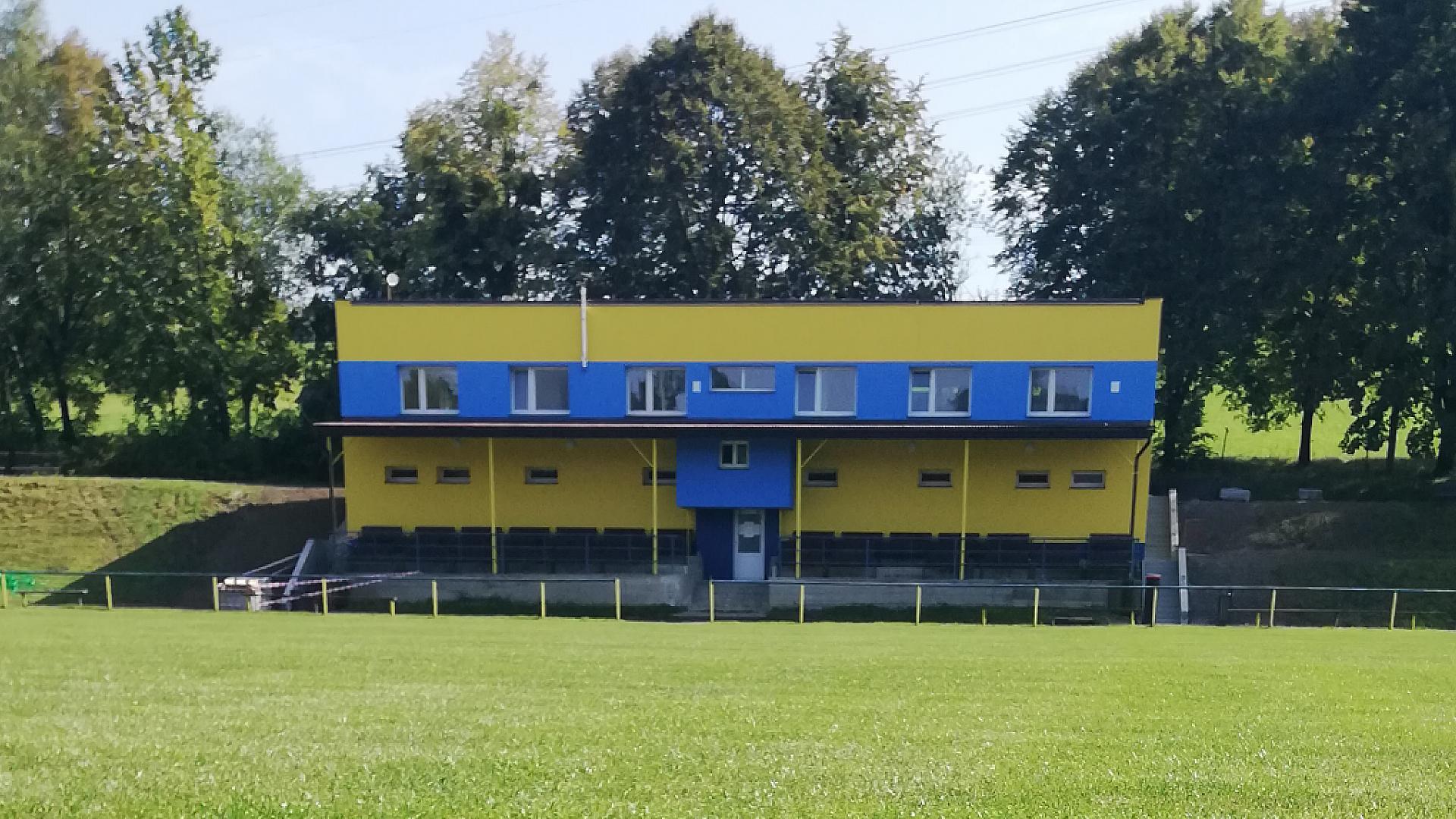 Rekonstrukce budovy SK Tichá