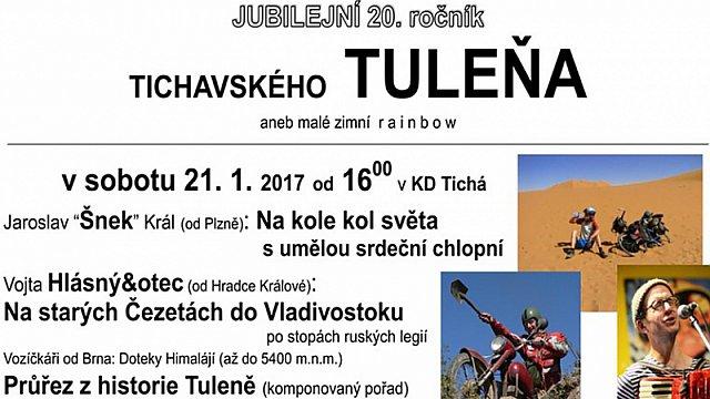 20. ročník Tichavského tuleňa 2017