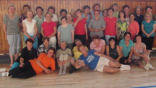 Tichavské cvičenky v Hradci nad Moravicí