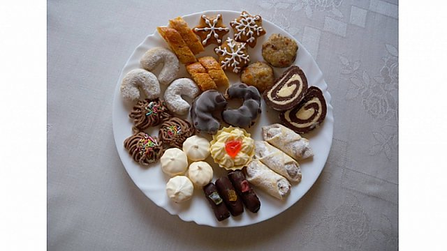 Zdeňka Hoďáková - pečení cukroví