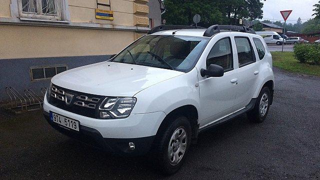Pořízení automobilu Dacia Duster
