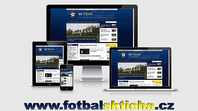 Nový klubový web SK Tichá