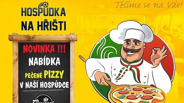 Pizza v Hospůdce Na Hřišti