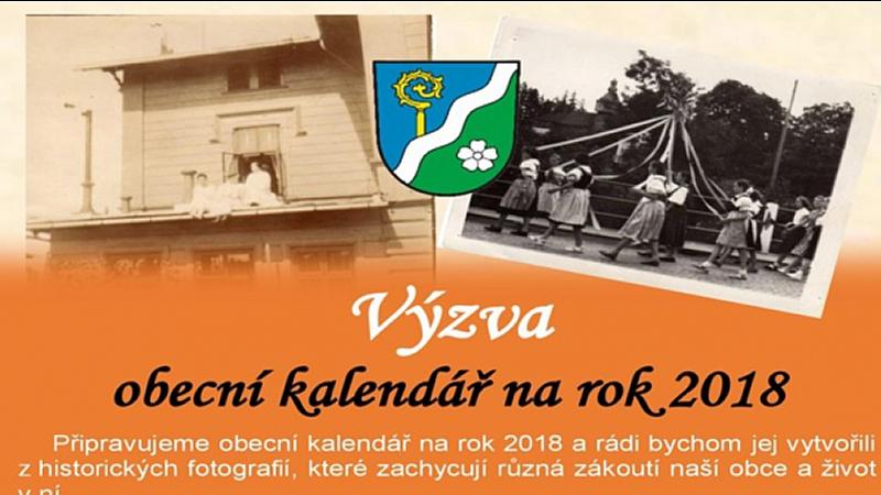 Obec Tichá - Výzva - obecní kalendář na rok 2018