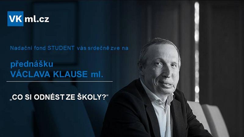 VKmil.cz - Přednáška Václava Klause ml. \