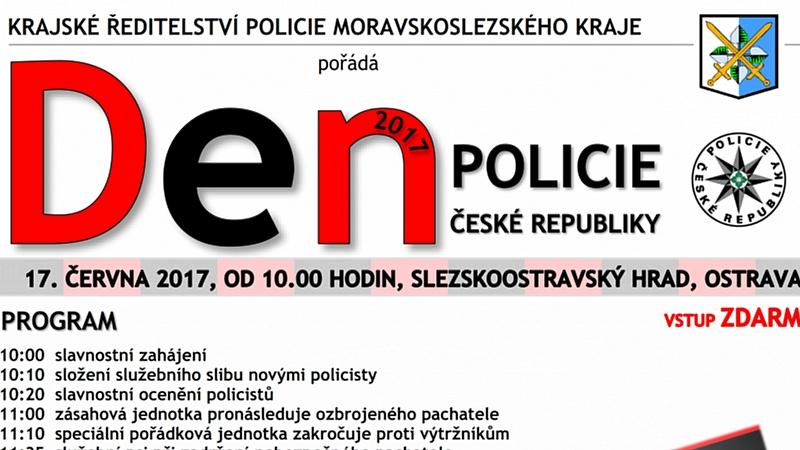 KŘ POLICIE MSK - DEN POLICIE ČESKÉ REPUBLIKY