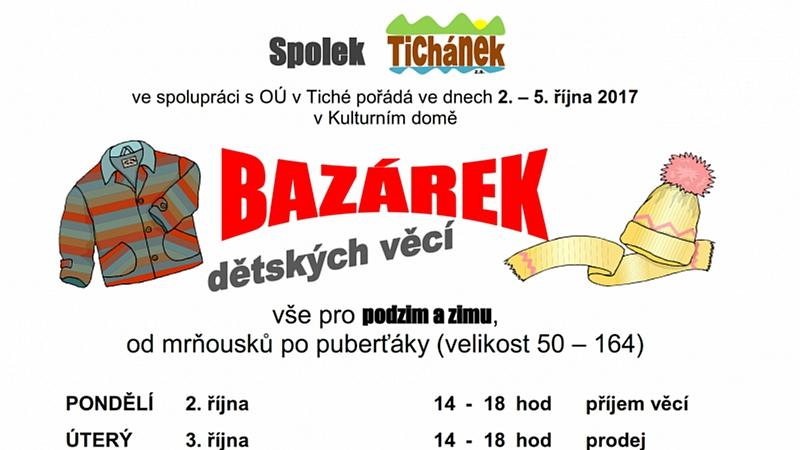 Tichánek - BAZÁREK 2017