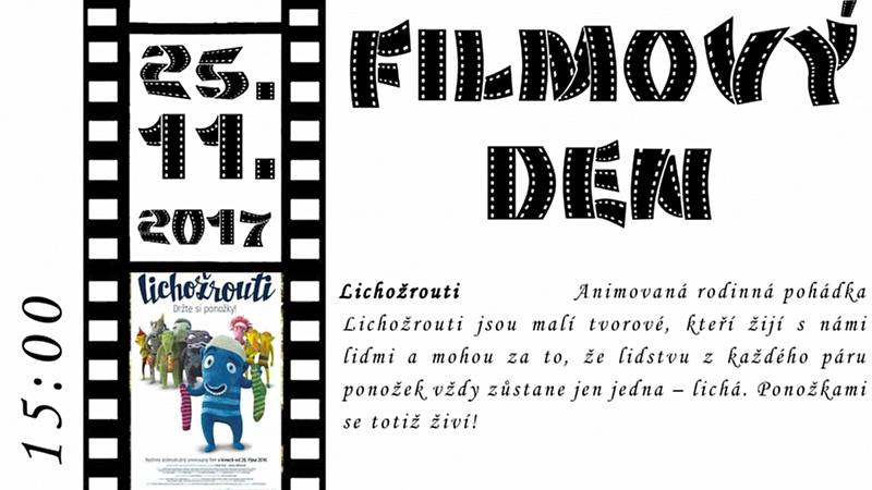 Obec Tichá - Filmový den v Tiché 25.11.2017