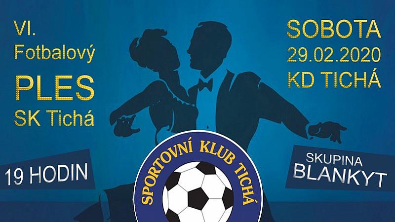 SK Tichá - Fotbalový PLES 2020