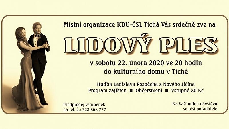MO KDU-ČSL - Lidový ples 2020